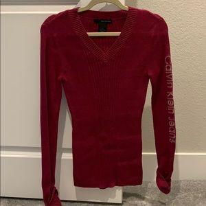 Calvin Klein sweater size med